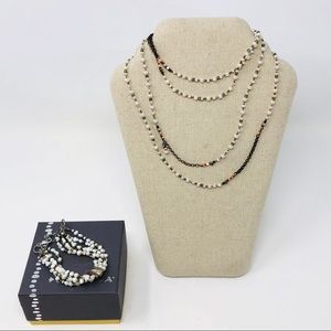 Silpada Bracelet B2188 Necklace N1993 Copper Set